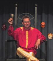 """03.07.2009 Bernd Lafrenz in """"Hamlet"""" - frei komisch nach Shakespeare - Kaisersesch"""