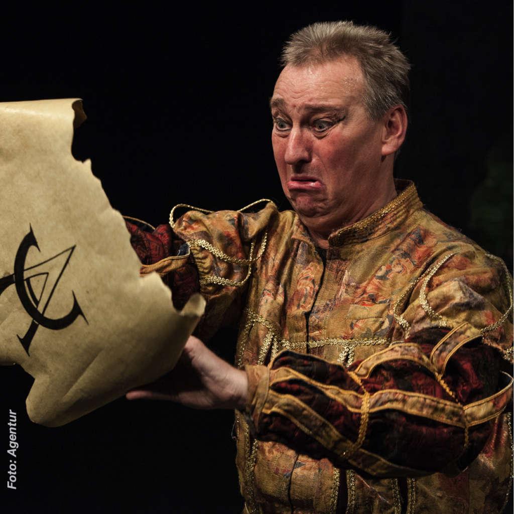 """27.06.20 - Bernd Lafrenz in """"Hamlet"""" nach Shakespeare"""