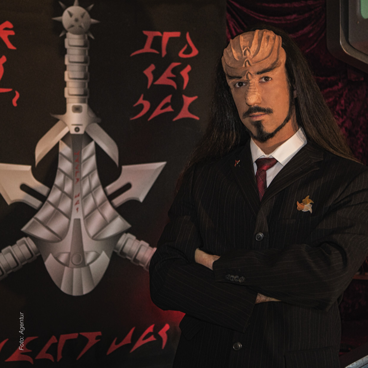 "27.06.21 Lieven L. Litaer "" Qapla'! "" - Klingonisch"